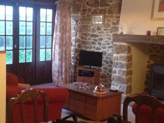 Saint-Hilaire-du-Harcouet, ฝรั่งเศส: Living room ( no ikea items)