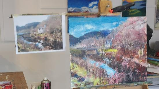 art4you Scotland: My almost finished work