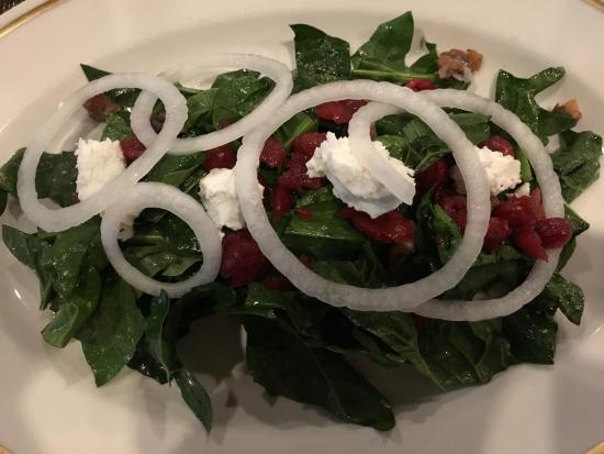 Imlay City, MI: Kale salad