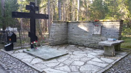 Komarovo, Russia: Мемориальное кладбище в Комарово