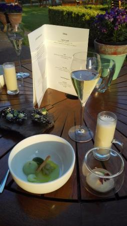De Lutte, เนเธอร์แลนด์: Dining on the rterrace