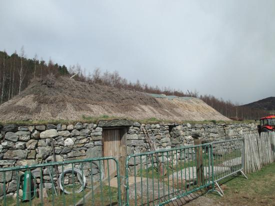 Highland Folk Museum: Blackhouse