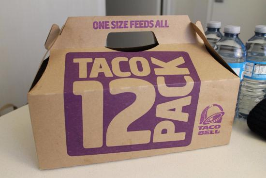 Euclid, OH: Taco bell takeaway