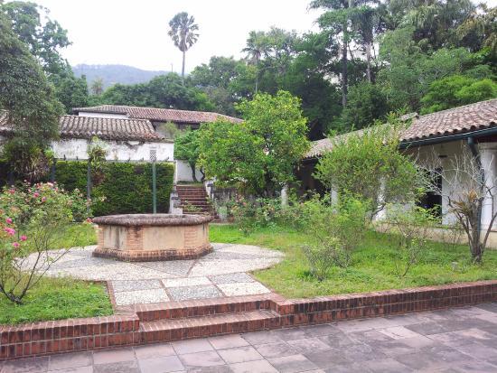 Quinta De Anauco : el patio central de la quinta
