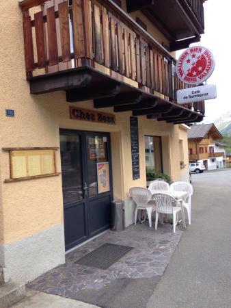 Orsieres, Suiza: Cafe de Somlaproz - Chez Zezza