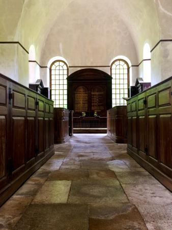 Historic Christ Church: The view as you enter the church.