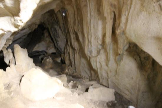 Zuheros, İspanya: Den første grotte med flagermus