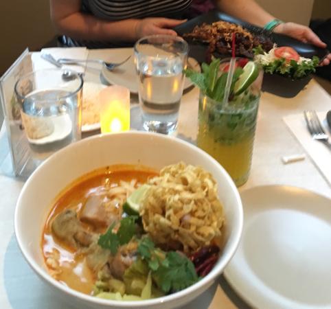 Photo of Asian Restaurant Kiin Thai Eatery at 36 East 8th St, New York City, NY 10003, United States
