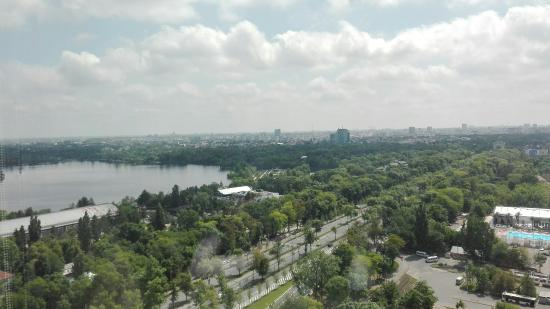 Fantastic view of Bucharest