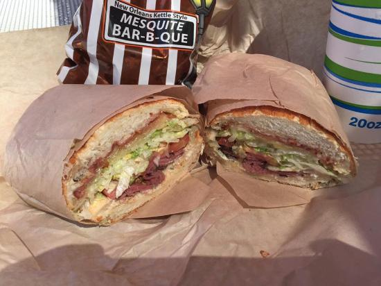 """Concord, CA: """"Tom hanks"""" was bacon, pastrami, and swiss (they forgot it)"""