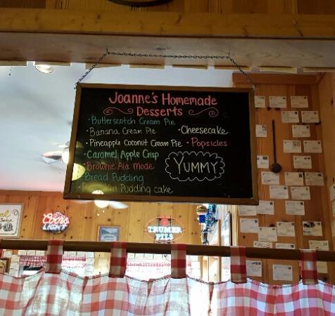 Cloverdale, CA: Dessert Menu