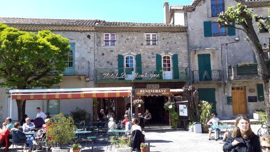 La Montagne : Terrasse du restaurant