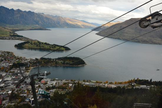 Queenstown, Nueva Zelanda: View from the gondola