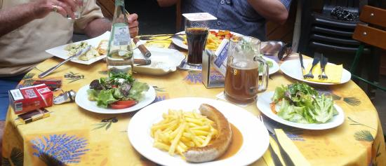 Wörrstadt, Deutschland: Perfecte lunch