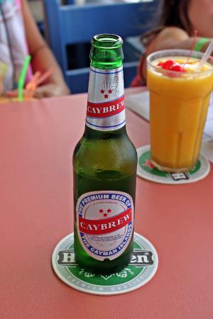 Breezes Bistro ~ Tropical Grill & Rhum Deck: local brew