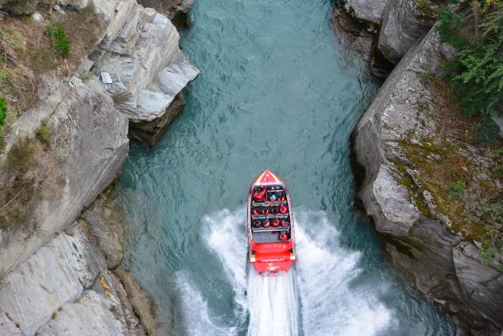 Queenstown, Nueva Zelanda: Canyon ride