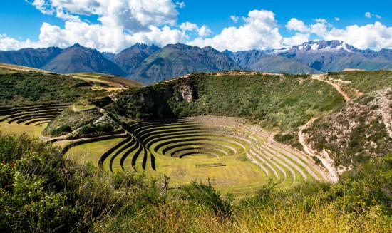 Adventure Heart Peru: The Incan agricultural terraces at Moray