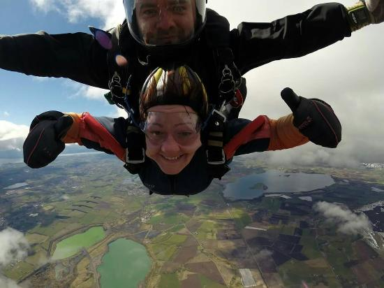 Гленротес, UK: Skydive 30th April 2016