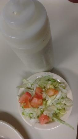 Boomarang Diner: Side Salad, Ranch