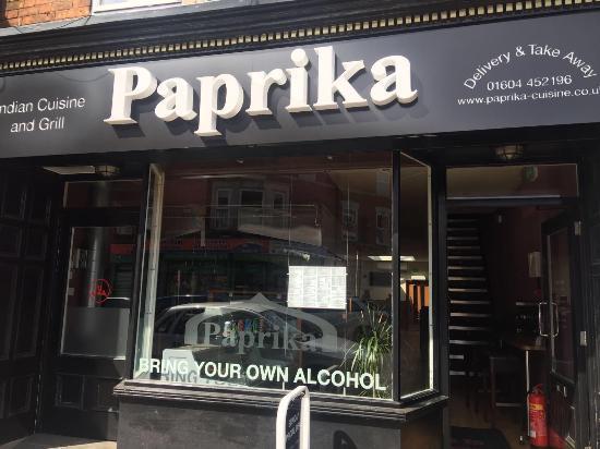 Paprika Indian Restaurant Northampton