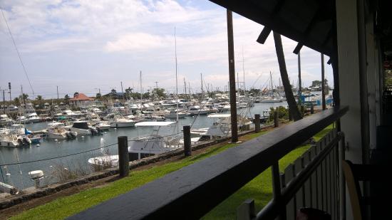 Honokohau Marina & Small Boat Harbor: Marina from Bar...