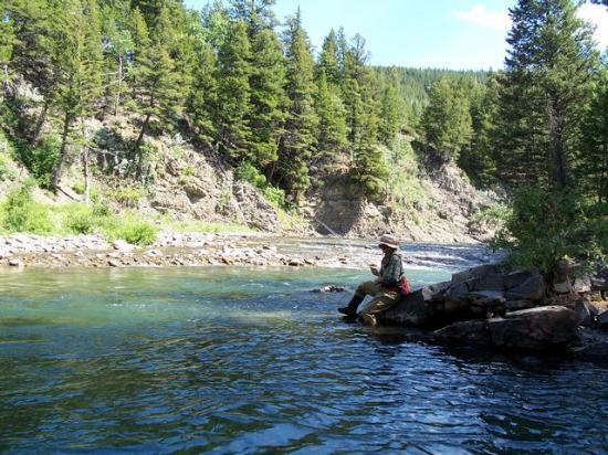 Crowsnest Cafe and Fly Shop: relax