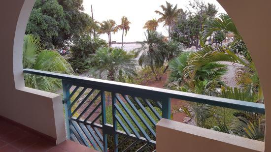 Plaza Resort Bonaire: Uitzicht vanaf het balkon