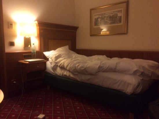 Platzl Hotel: Super comfortable bed