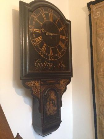Kelmscott, UK: Clock belonging to Rossetti