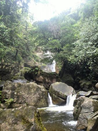 Santa Fe, Panama: Bermejo Waterfalls