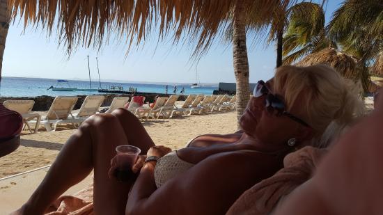 Plaza Resort Bonaire: Aan het mooie rustige strand