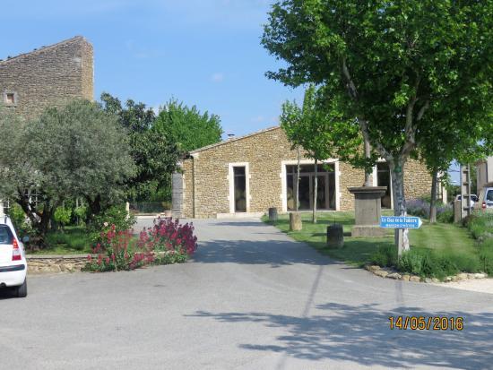 Domaine de Montine : Arrivée