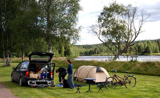 Alvdalen, Sverige: Älvdalens Camping