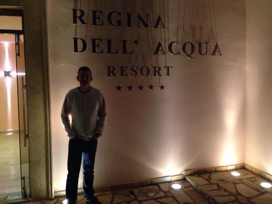 Regina Dell Acqua Resort: May 2016