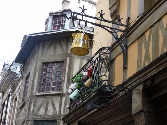 Centre ville de Rouen, salon de thé / brûlerie - Photo de Vieux ...
