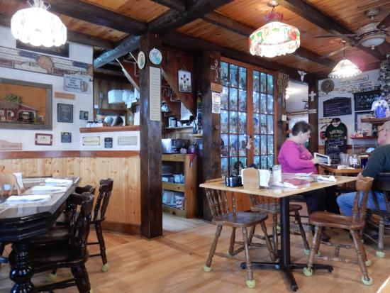 The Front Porch Cafe: A glimpse of the eclectic interior