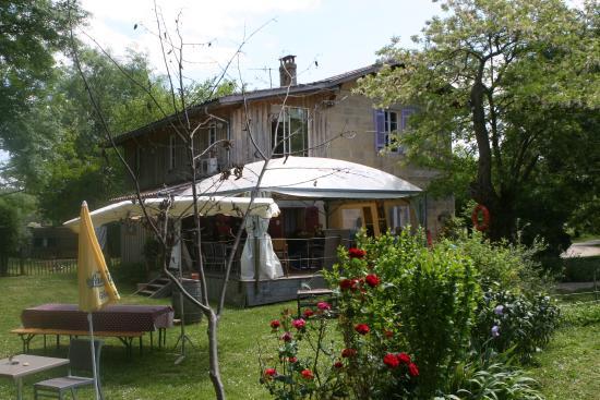 Lestiac-Sur-Garonne, Frankreich: Restaurant