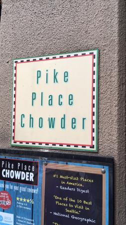 Pike Place Chowder: Some of the Best Chowders that I've ever had....long lines but definitely recommend going, the l