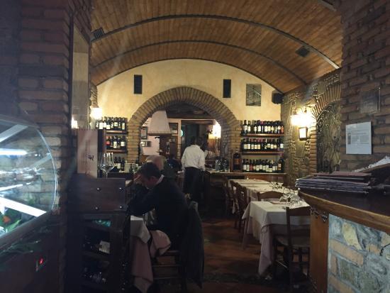 Ristorante Dalla Zia: Inside