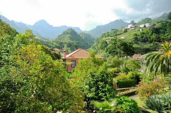 View from Casa da Piedade B&B, Sao Vicente, Madeira, Portugal.