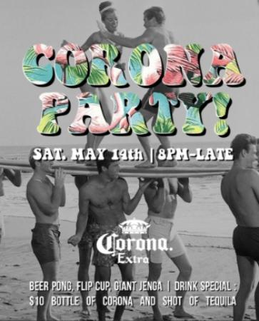 It's a Corona Party at Townhall South Surrey!