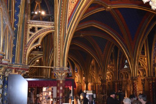 Παρίσι, Γαλλία: capilla inferior