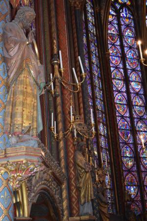 París, Francia: altar capilla superior