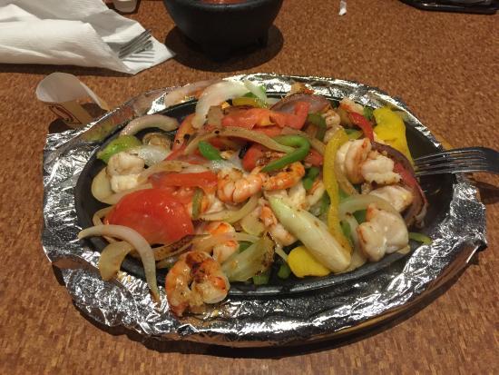 Kent, OH: Shrimp Fajita