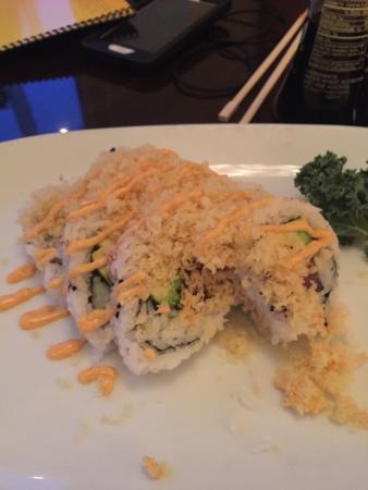 Fantastic spicy tuna roll