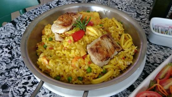 Camaroes Restaurante: Risoto Andaluzia
