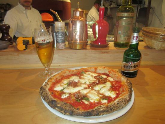 Belfast, ME: Hot Summer Pizza