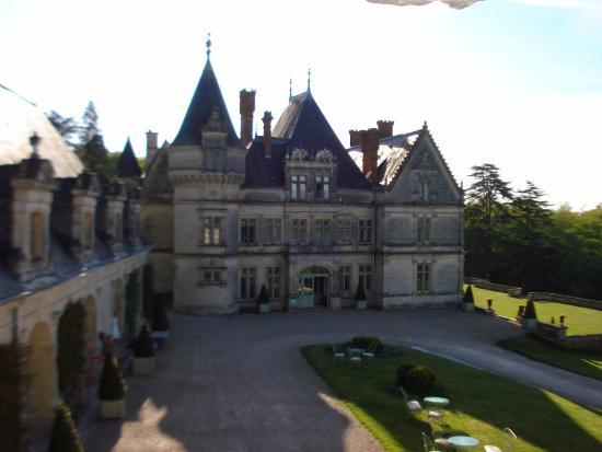 Chateau de la Bourdaisiere: Vista da suíte