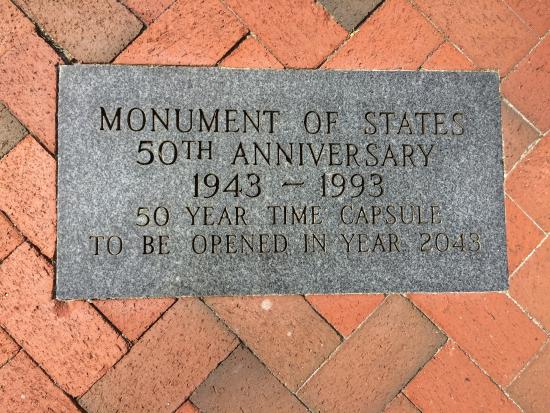 Kissimmee, FL: Time Capsule Plaque