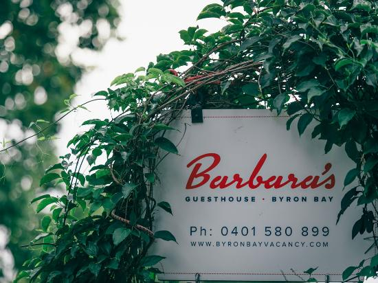 Barbara's Guesthouse: Welcome to Byron Bay!